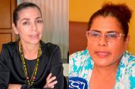 Maritza Chavarro Antury (izquierda) directota seccional de Sucre y Luz Mery Cecilia Díaz Genes, funcionaria que la denuncia.
