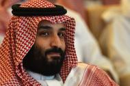 El príncipe heredero de la corona saudita, Mohammed bin Salman.