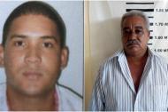 Bladimir Castillo Sehuanes y Orlando Cantillo Lobo, capturados.