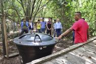 El paquete turístico incluye el recorrido por un sendero ecológico que termina en el río Manaure.