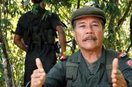 Jefe guerrillero del ELN, Nicolás Rodríguez Bautista, alias Gabino.