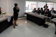 La Bancada Caribe en reciente reunión con la Superintendente de Servicios Públicos, Natasha Avendaño.