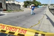 Calle 21 con carrera 26, lugar del crimen del menor de 16 años.