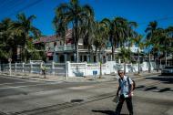 Esquina de la carrera 60 con calle 70, en el barrio Bellavista, donde se ubica la casa patrimonial.