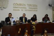 Discusión del proyecto en la Comisión Tercera de la Cámara de Representantes.