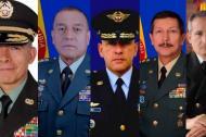 La nueva cúpula Militar y de Policía.