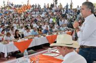 El presidente Iván Duque durante el taller en San José de Guaviare.