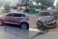 Estados en el que quedaron los vehículos involucrados en el accidente.