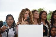 Shakira, cantante barranquillera.