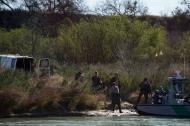 Las personas habían ingresado a México de forma irregular por el río Suchiate.