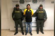 Deivis Enrique Medina Vargas, capturado.