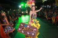 Carolina Segebre desfiló con la fantasía 'Juanita la cambambera'.