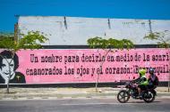 En este mural, ubicado en la carrera 50 con calle 40,  se llevará a cabo una alborada poética a las 7 a.m.