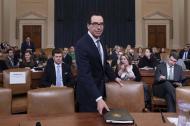 Steven Mnuchin, secretario del Tesoro de los Estados Unidos bajo la administración del presidente Trump.