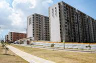 Proyecto de vivienda en construcción ubicado en la ciudad de Barranquilla.