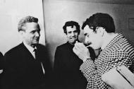 Germán Vargas, Álvaro Cepeda y Gabriel García Márquez a fines de los años sesenta.