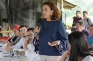 Nancy Patricia Gutiérrez, ministra del Interior.