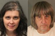 Louise Turpin, de 50 años, y David Turpin, de 57, condenados.