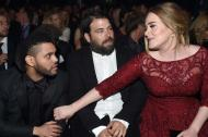 The Weeknd,  Simon Konecki y Adele.