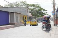 Sector del barrio Rebolo, donde se presentaron los hechos.