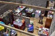 El vendaval destechó la vivienda de Sonia Martínez, ubicada en la calle 16 con carrera 10 en Palmar.