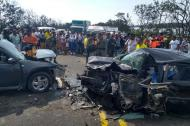 Accidente registrado en Ciénaga, Magdalena.