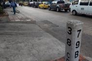 Sector del barrio Los Jobos, donde se registró la riña.