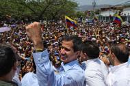 Juan Guaidó, reconocido por 50 países como el presidente interino de Venezuela.