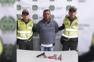 José Joaquín  Carvajal Mendoza, capturado.