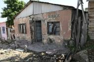 Fachada de la vivienda ubicada en el barrio Carrizal.