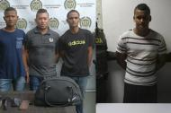 Capturados por la Policía el día de ayer.
