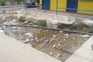 Las redes de agua potable no han sido instaladas.
