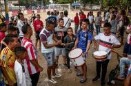 Los jóvenes de los barrios Rebolo, La Chinita, La Luz y Las Nieves compartieron en total tranquilidad durante el evento.