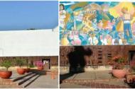 Repudio generó que la Alcaldía ordenara borrar un mural de alto valor cultural de la fachada del Concejo municipal para reparar una pared.