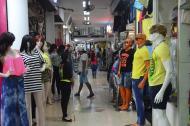 Centro comercial en Barranquilla.