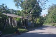 Calle principal de Sabanas del Cuarto.