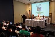 Durante el primer encuentro 'El papel de los medios en el conflicto y la paz, organizado por la Maestría en Periodismo de la Universidad del Norte y EL HERALDO.