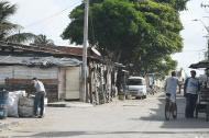 Alias Guri-Guri caminaba por este sector cuando fue ultimado.