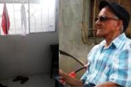 Andrés Molina Olaya, el adulto mayor de 85 años que murió el jueves anterior en extrañas circunstancias en su habitación.