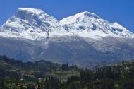 Nevado del Huascarán en el Perú.