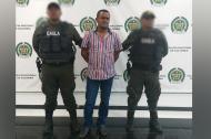 José Ricardo Muñoz Caballero, capturado.