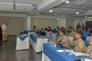 Aspectos del taller para la Administración y Gestión de los Litorales del país.