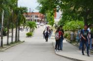 Fachada de la sede de la Universidad de Sucre.