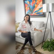 La pedagoga infantil y actriz Yeimily Medrano