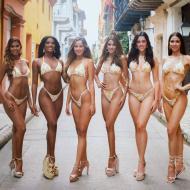 Candidatas a Señorita Región Caribe