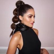 'Bubble ponytail' un peinado práctico que está en tendencia