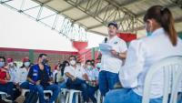 El Gobernador de Sucre se compromete con Toluviejo