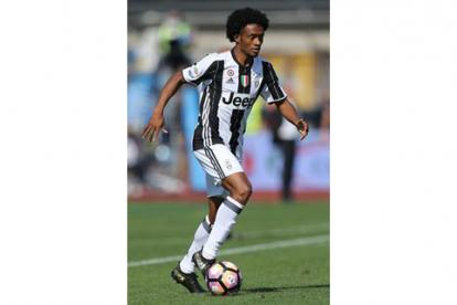 Cuadrado sigue sumando minutos con la Juventus.