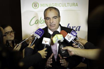 Aurelio Iragorri, minagricultura.