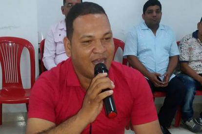 Samir López Visbal, concejal de Galapa asesinado.